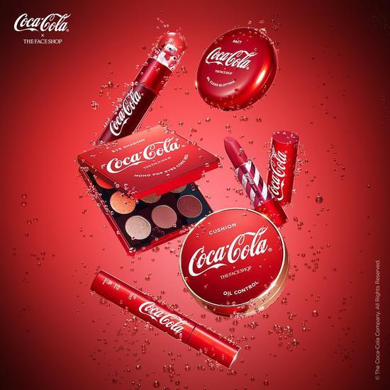 可口可乐不出饮料了?出了灌装彩妆!