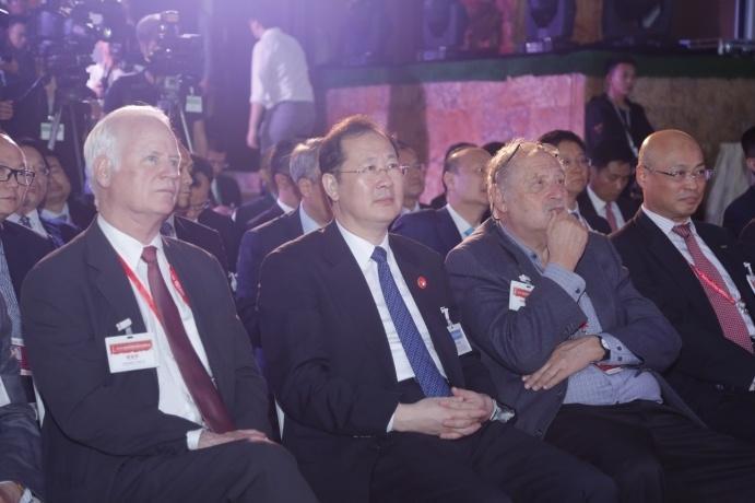 2018广州城市形象国际传播年•博鳌推介会现场。