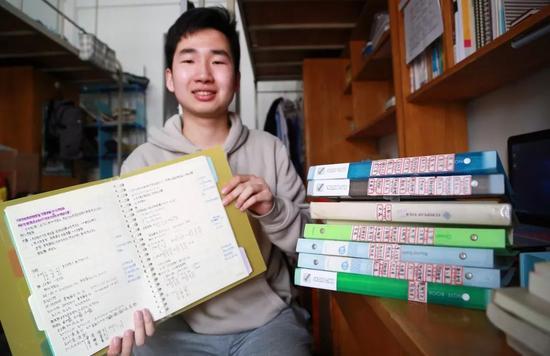 朱德智的课堂笔记为大家备考作出了贡献