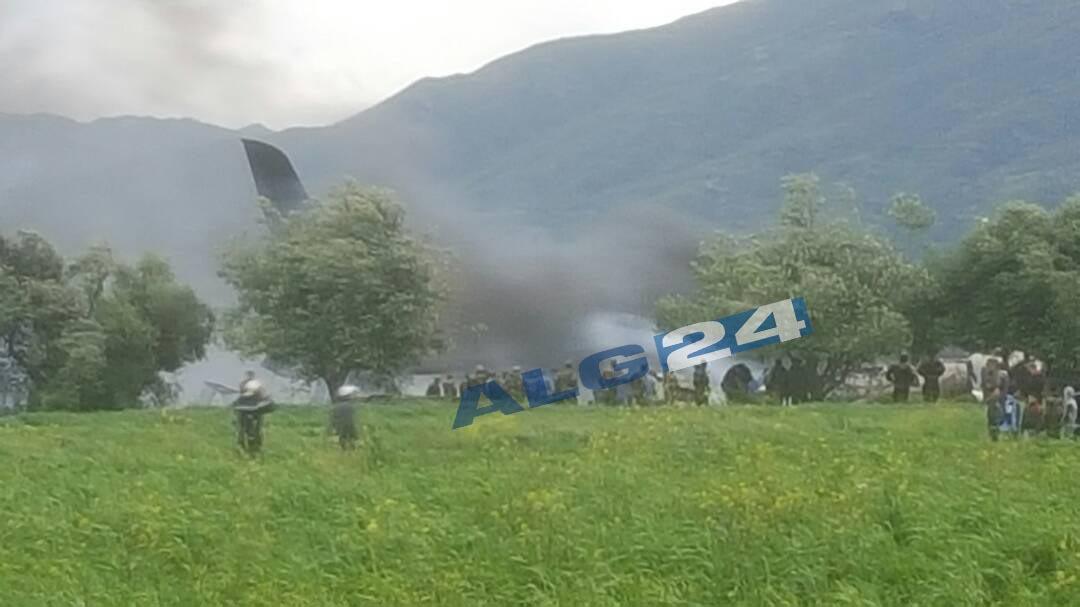 阿尔及利亚一架伊尔76坠毁 事故或与零件故障有关