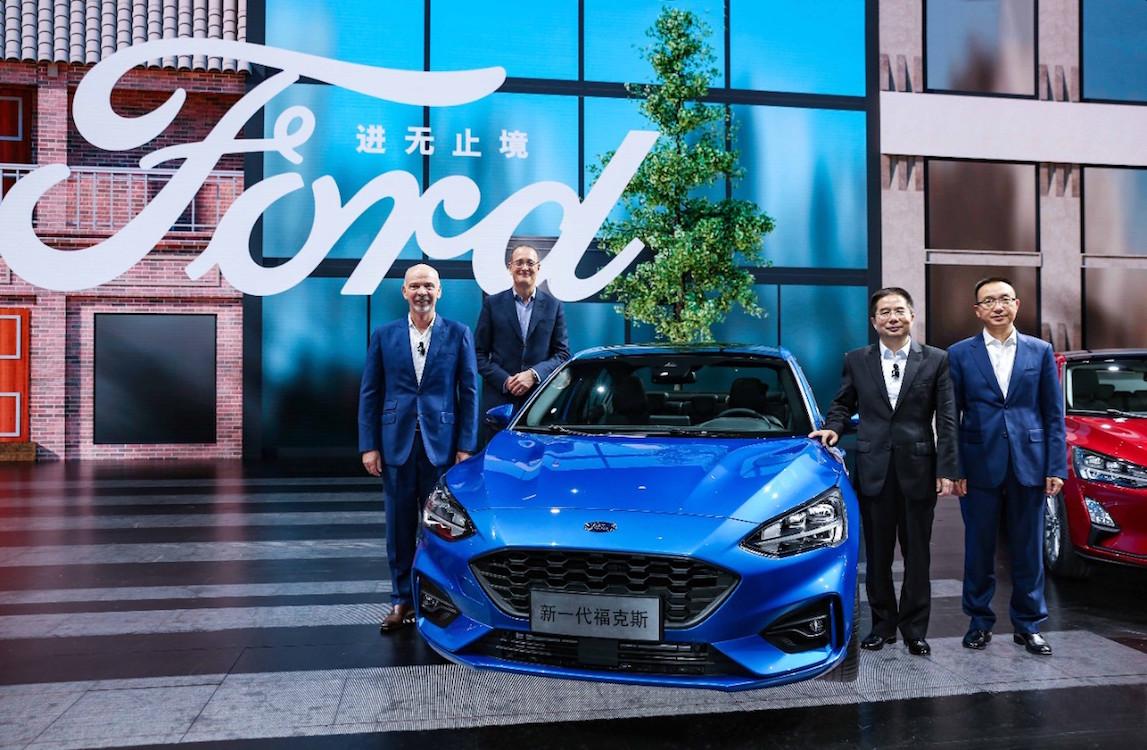 福特加大在华产品攻势 今年推五款新中型车