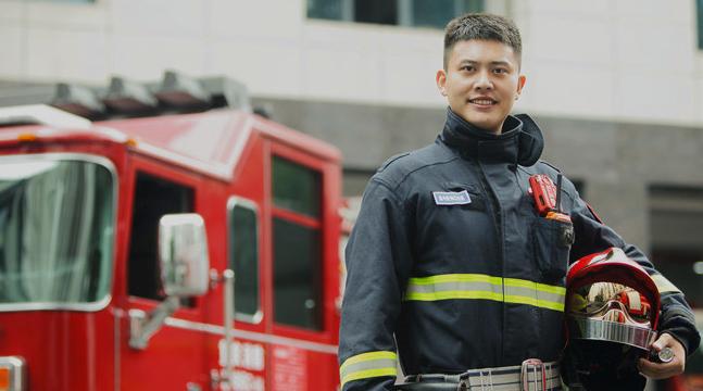 消防员李佰特:小小的Spark就能帮上忙