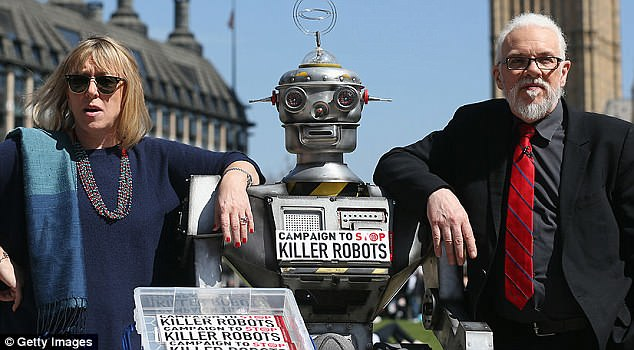 专家:杀手机器人一年内将上战场 而且敌友不分