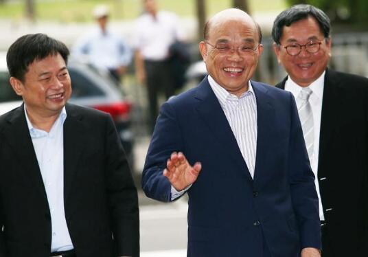 """出尔反尔! 蔡英文""""劝进""""之下 苏贞昌口头答应选新北市长"""