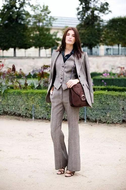 西装外套百变穿,原来可以那么美?