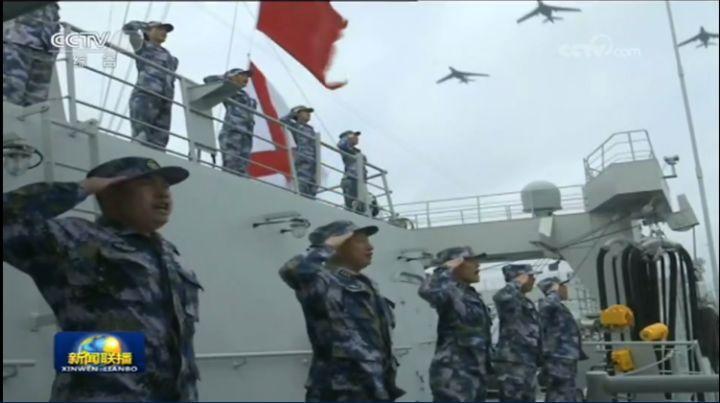 这次南海阅兵有三大关键词:南海、航母、实战化!