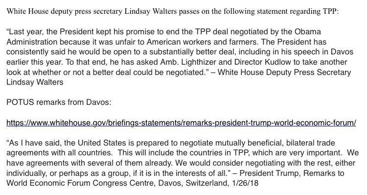 """特朗普考虑重返tpp,外媒""""泼冷水"""":那11国未必欢迎!"""