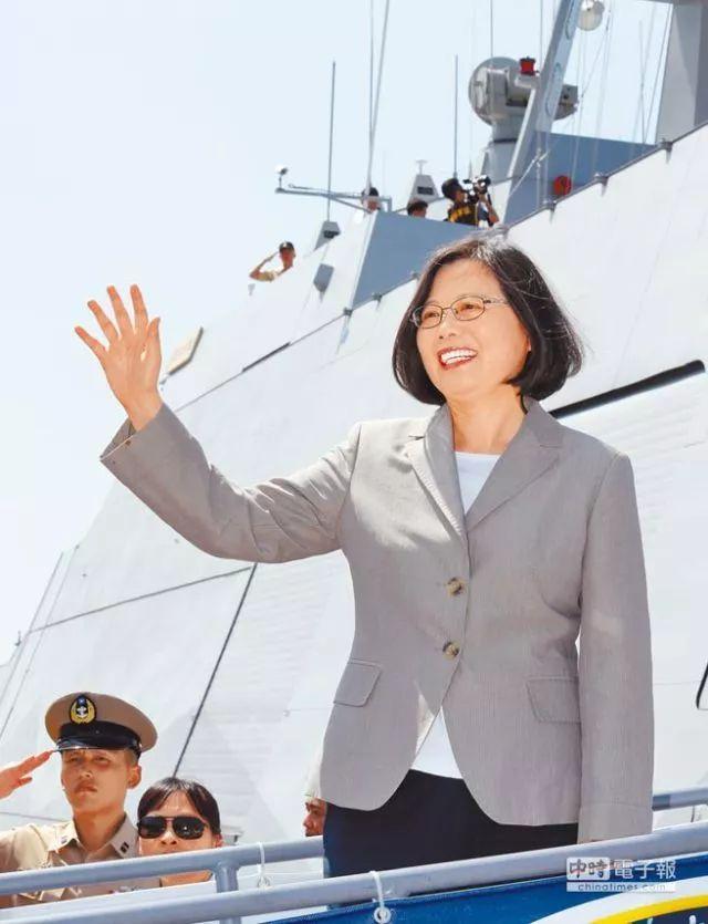 蔡英文今天也要海上阅兵