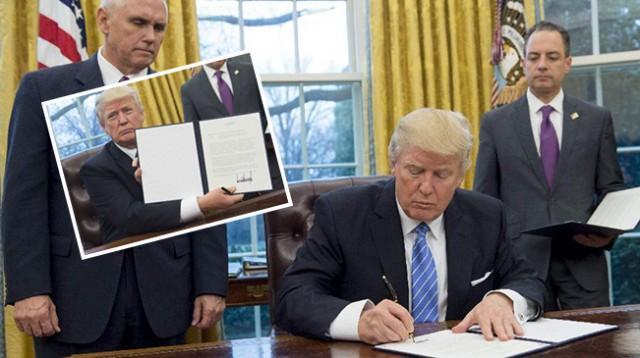 上任一周就退出的TPP,特朗普又想回去了?