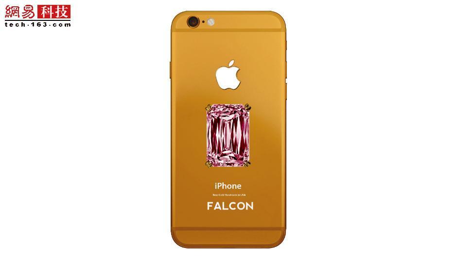 2014年,美国奢侈品牌Falcon推出了Supernova Pink Diamond iPhone 6 Plus,售价高达1.1亿美元,买家可选择三款高级金属机身----金色、玫瑰金和铂金。这款手机的背面镶有一颗精致的18克拉粉钻。