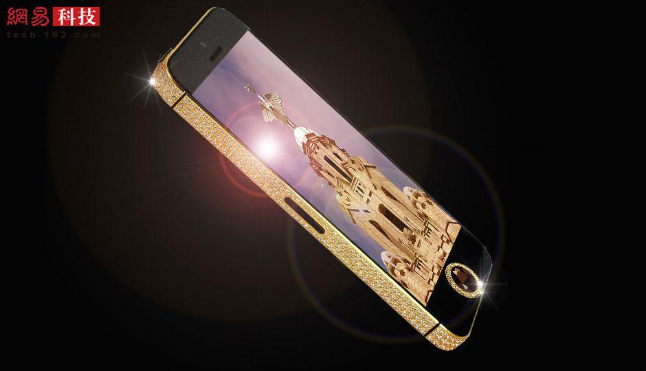 Black Diamond iPhone 5的价格高达1530万,Home键上镶有一颗罕见的26克拉黑金刚石。这款手机费时9周制成,外壳由纯金重新制作。手机背部的苹果商标镶有53颗钻石,整块背板嵌有600颗白色钻石。