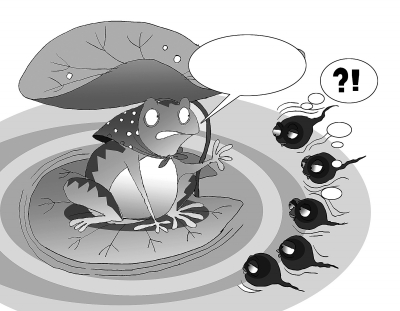 """为""""强身""""乱吃活物有误区 生吞蝌蚪小心感染裂头蚴"""