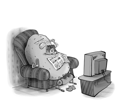 """当""""沙发土豆""""两周就会有损健康"""
