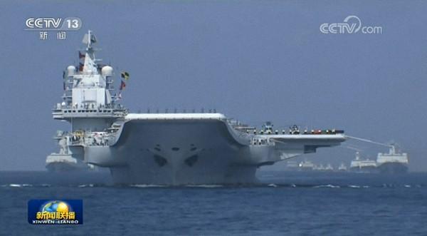 南海点兵,横纵两向一窥中国海军实力