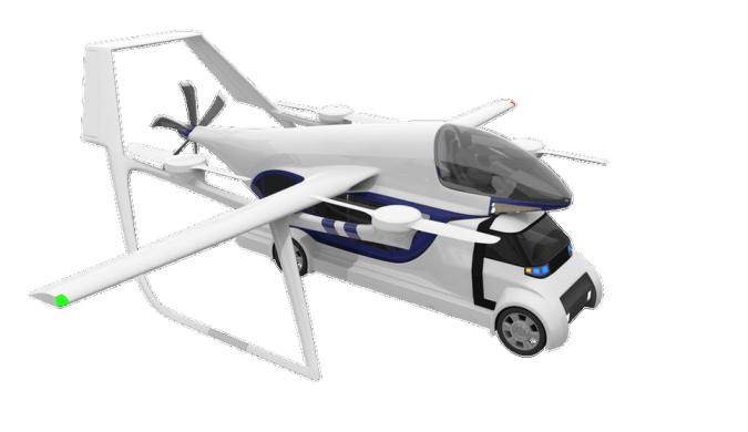 全新垂直起降概念飞机或无缝连接地面与空中交通