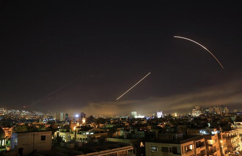 叙利亚战事进展:导弹击中霍姆斯省的叙军多座仓库