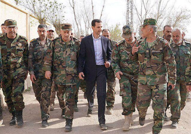 视频 | 阿萨德现身,在西方对叙打击后仍在大马士革官邸