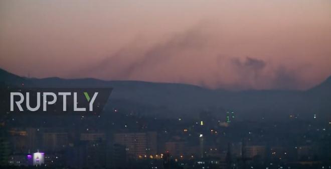 视频 | 叙利亚地对空导弹成功拦截美国及盟友来袭导弹