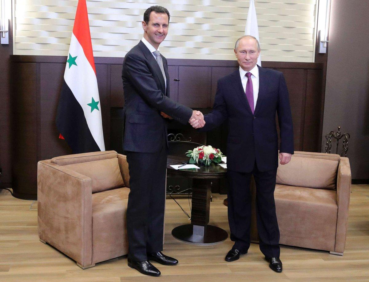 普京:美国对叙利亚的打击是侵略!
