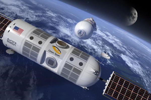 首家太空酒店2022年将开业 一天可看16次日出日落