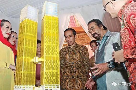"""让印尼第一高楼""""逆生长"""" 这些国家元首被""""中国建造""""折服"""