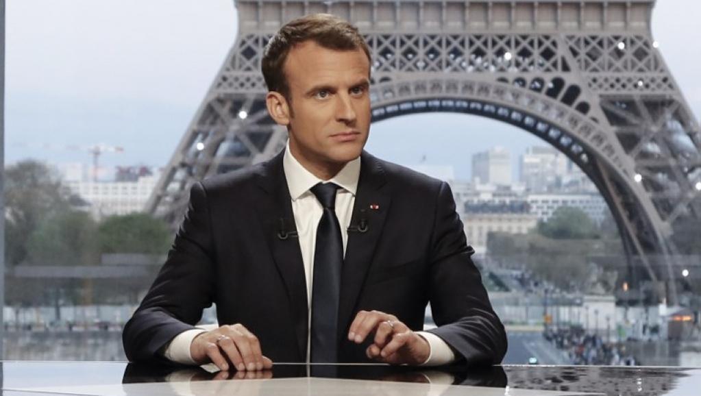 马克龙:法国没有向叙利亚宣战,我们只是采取了军事行动...