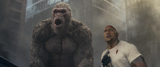 《狂暴巨兽》首周末票房夺冠劲收3.47亿