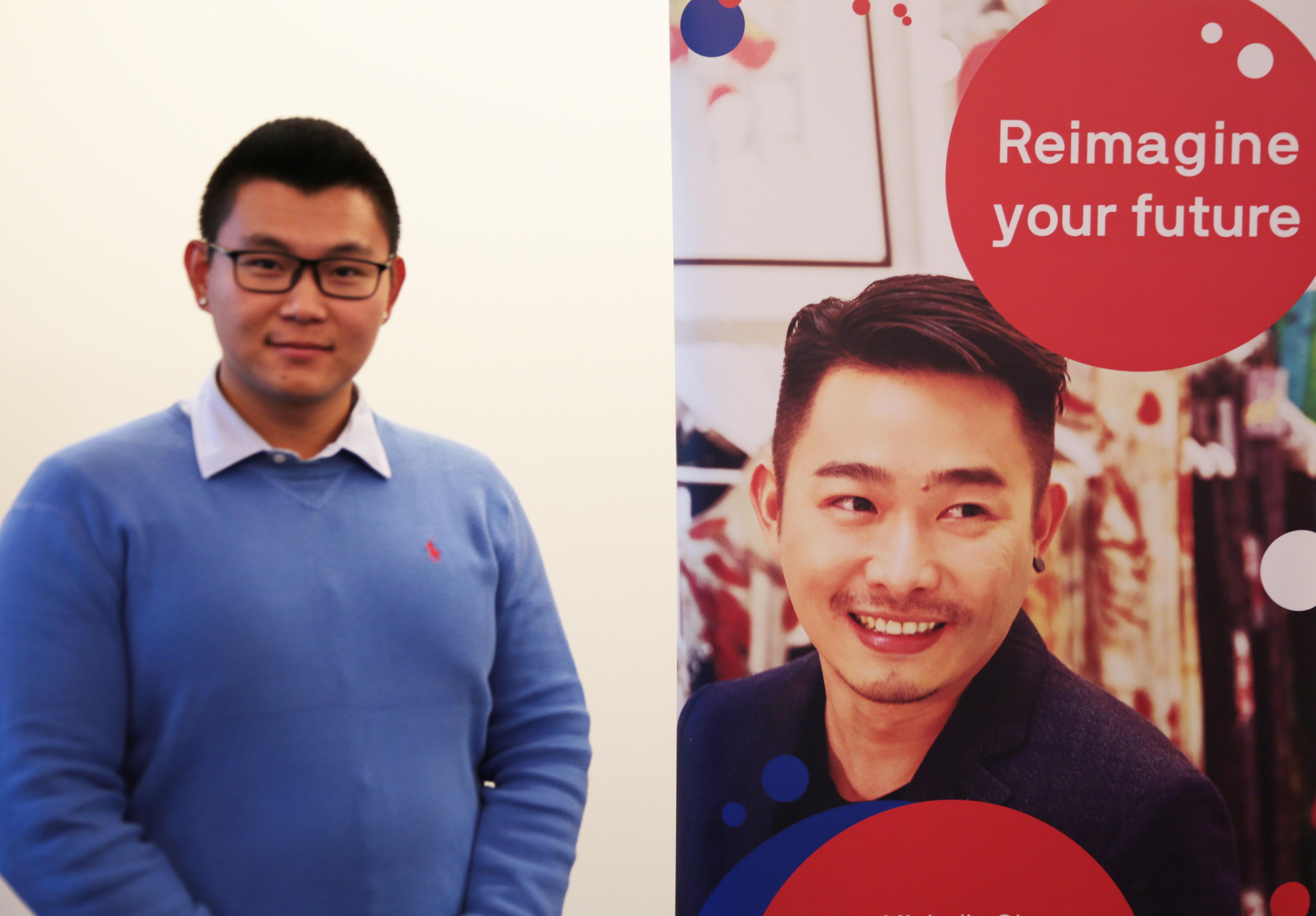 悉尼科技大学毕业生、中澳千禧计划参加代表王国玺-青年创业家参加