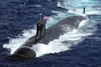 美军公开向叙连射导弹画面 一款核潜艇首次实战