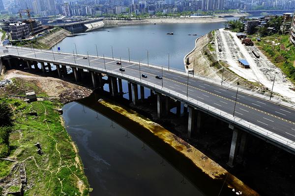"""重庆万州建成三峡库区首条""""水上高速公路"""""""