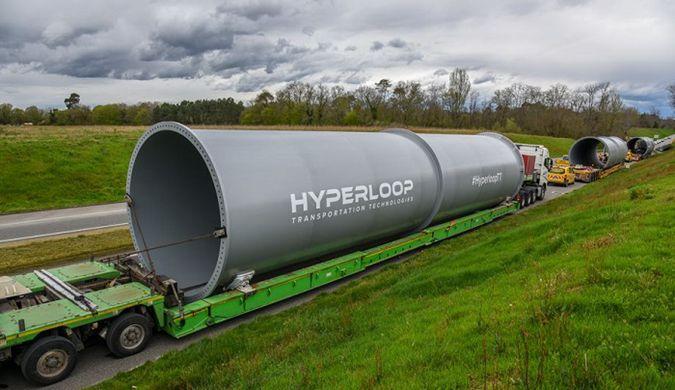 """HTT开建第三条""""超级高铁""""测试轨道"""