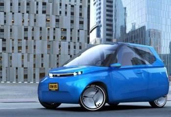 荷兰科学家开发环保电动汽车 超9成零件可降解