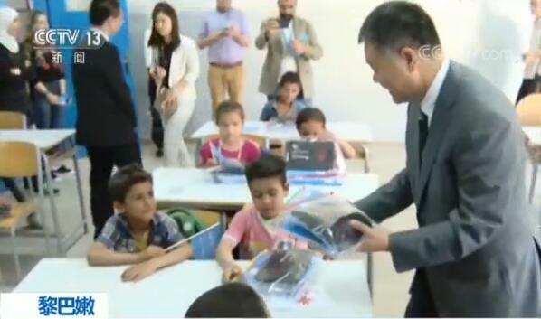 中国援助惠及8万余名黎巴嫩境内叙难民儿童
