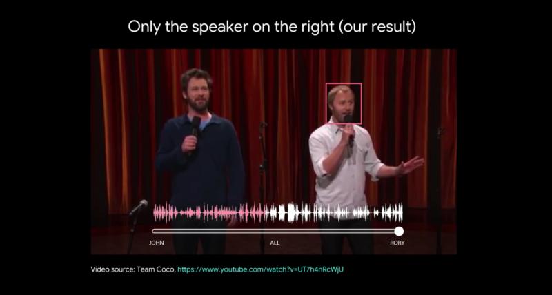 喧闹中也能辨识熟人声音?谷歌AI欲做到这点
