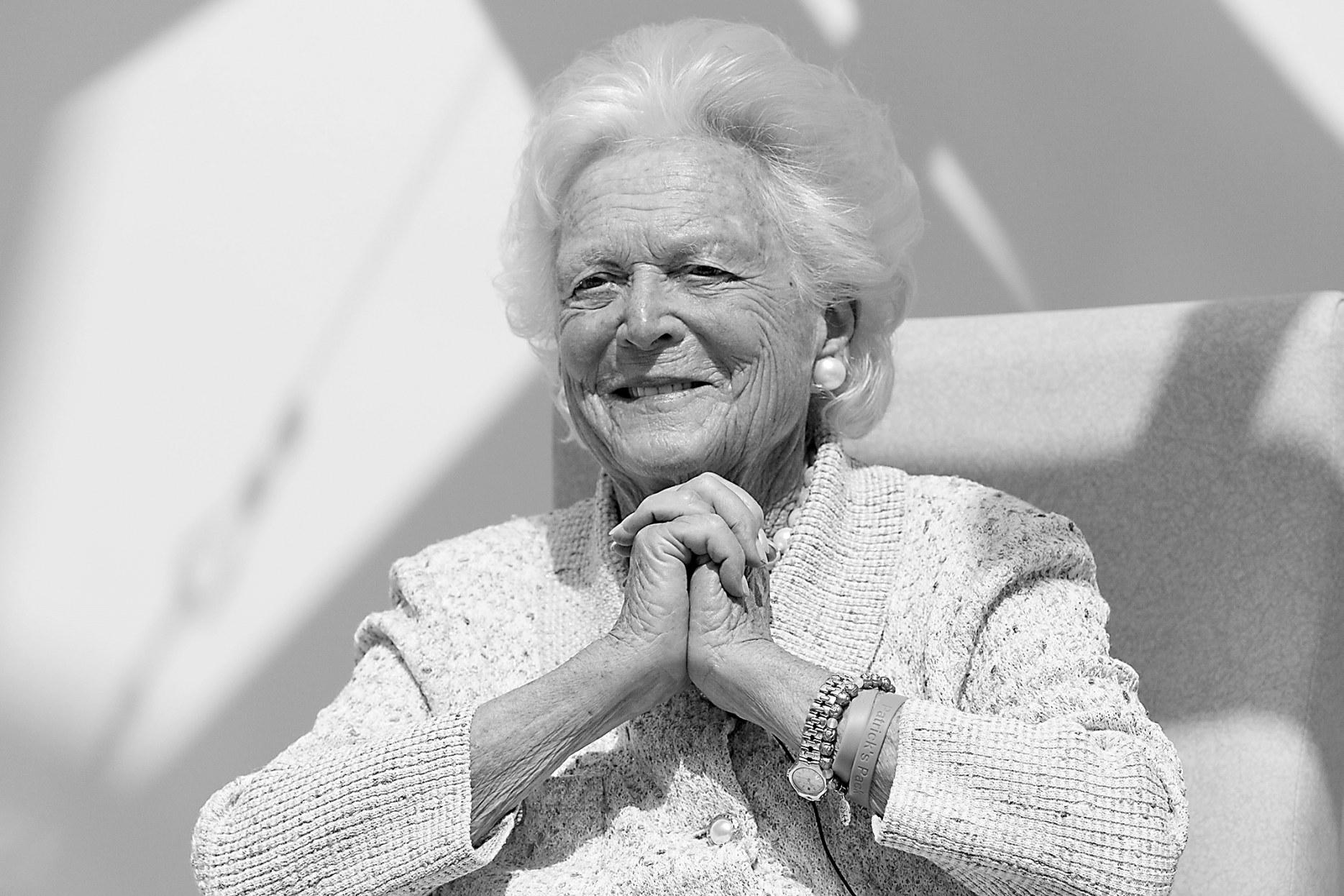 """老布什夫人芭芭拉放弃治疗,余生将在家中""""颐养"""""""