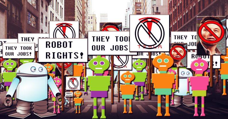 人类逆袭 特斯拉工厂重新用人类替换机器