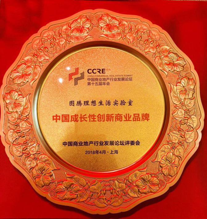"""创新社区商业模式 图腾荣获""""中国成长性创新商业品牌""""奖"""