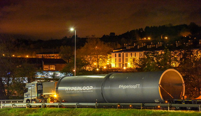 HyperloopTT在法建欧洲首条超级高铁测试跑道