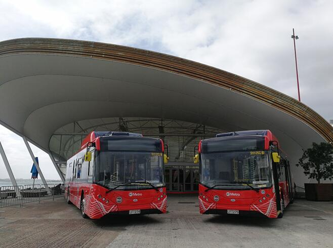 继覆盖欧美日韩后 比亚迪电动巴士开进新西兰