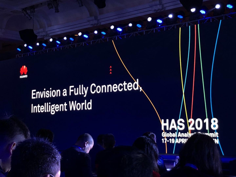 【HAS2018】华为:构建万物互联彩票网世界 让普通人不普通