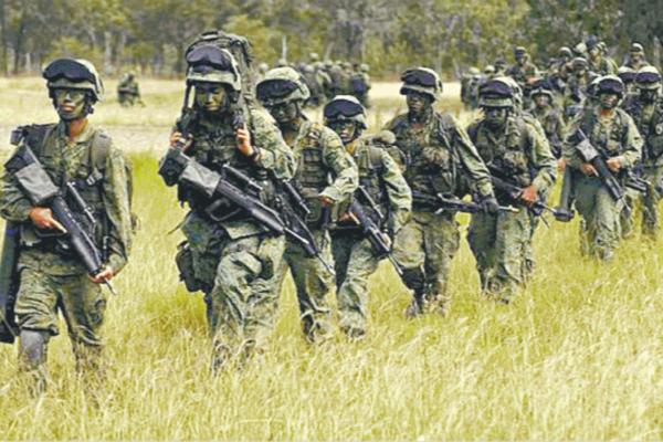 """新加坡""""星光部队""""本周将与台军展开对抗演习"""