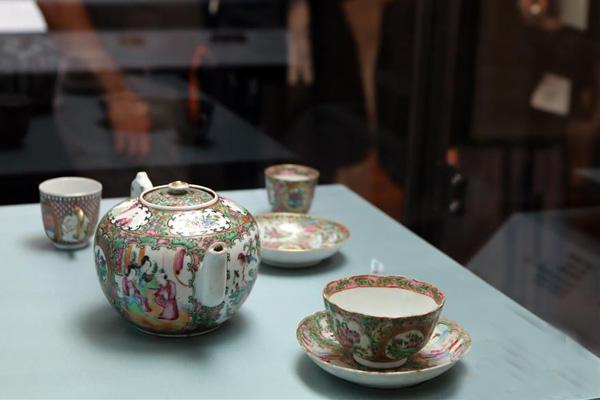 """香港将举办""""艺术背后:中国外销茶具展"""