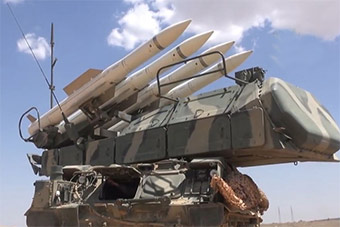 叙利亚防空部队装备曝光:靠他们防美国导弹