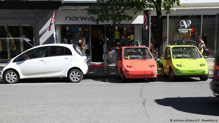 德国:中国和挪威在纯电动汽车发展领域遥遥领先