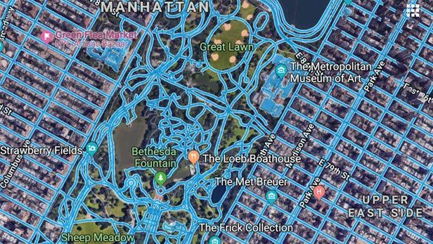 基于AI MIT研发新型卫星地图道路识别系统