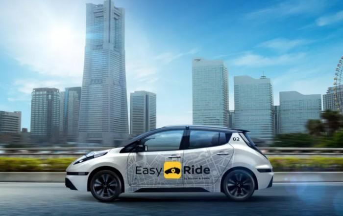 日产自动驾驶出租车业务2020年正式上线