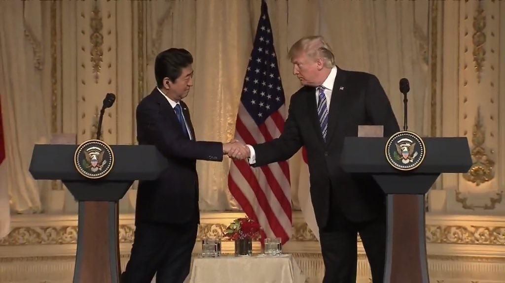 """特朗普:希望朝韩能够在""""安全、繁荣与和平""""中共处"""