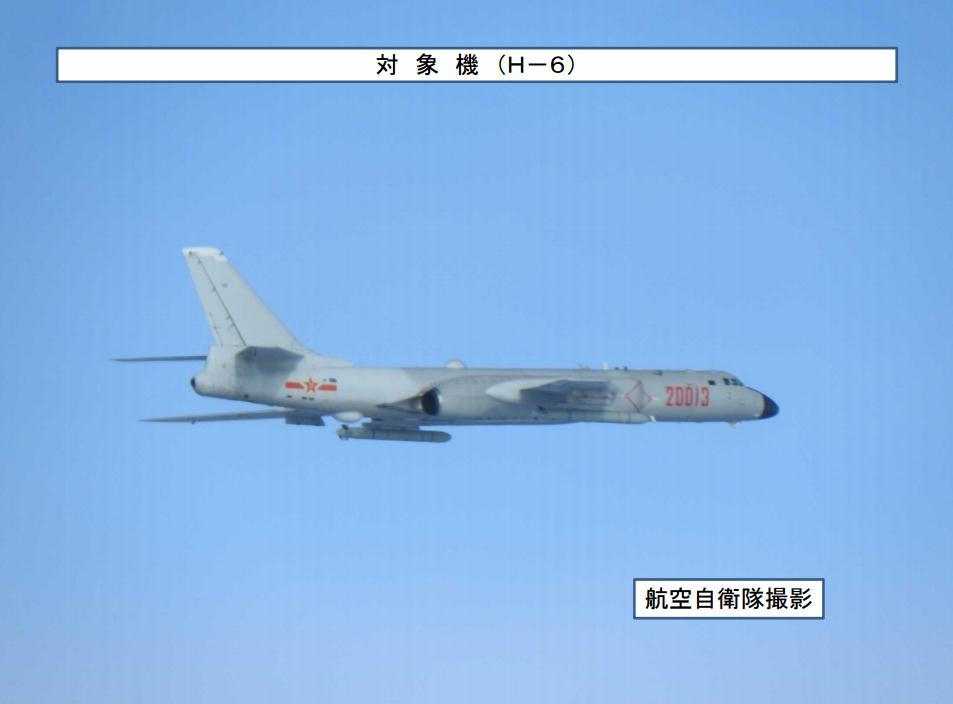 不仅实弹射击,解放军两架轰6K昨日还绕飞台湾岛!台方这样说