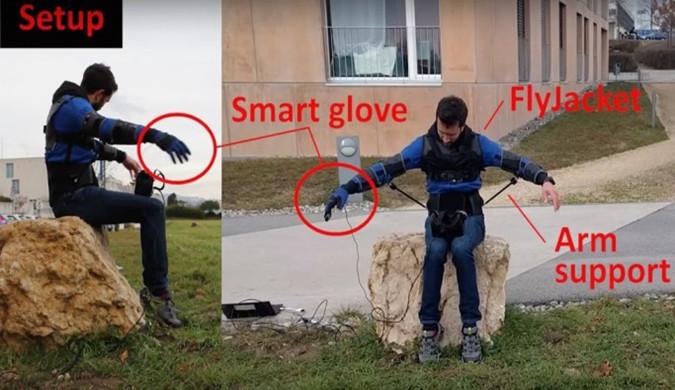 可穿戴式外骨骼上线 用户可使用身体控制无人机