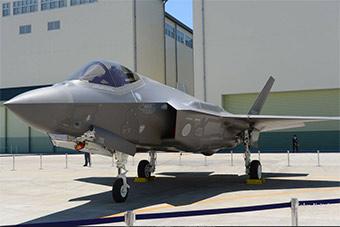 炫耀个没完:日本空自高调展示F35战机